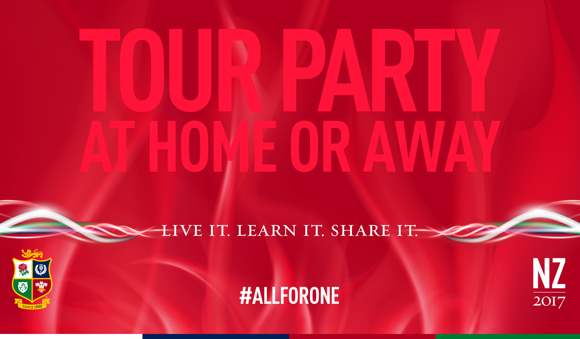 Join The British & Irish Lions Tour Party!