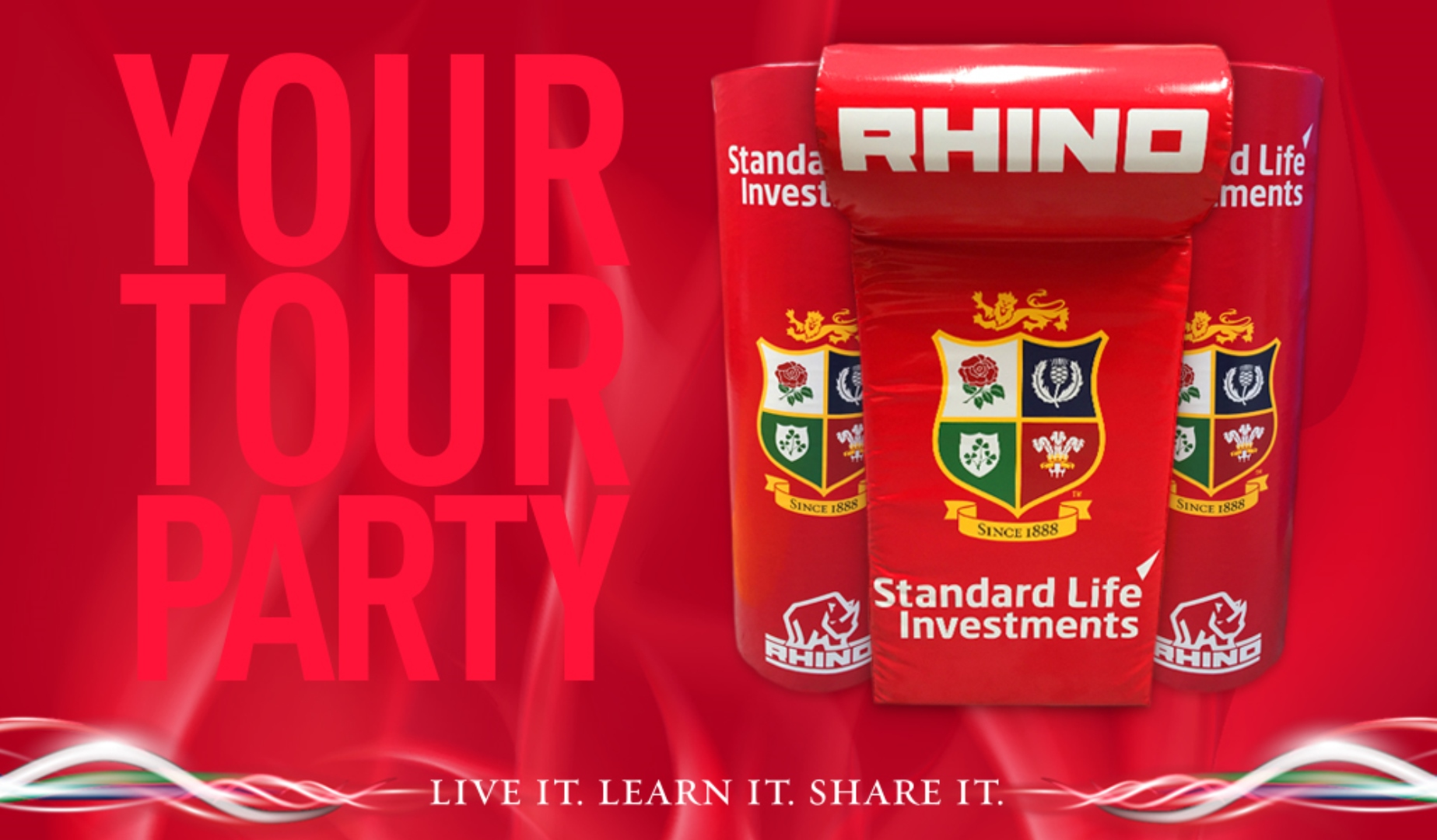 Win Lions training equipment for your club!
