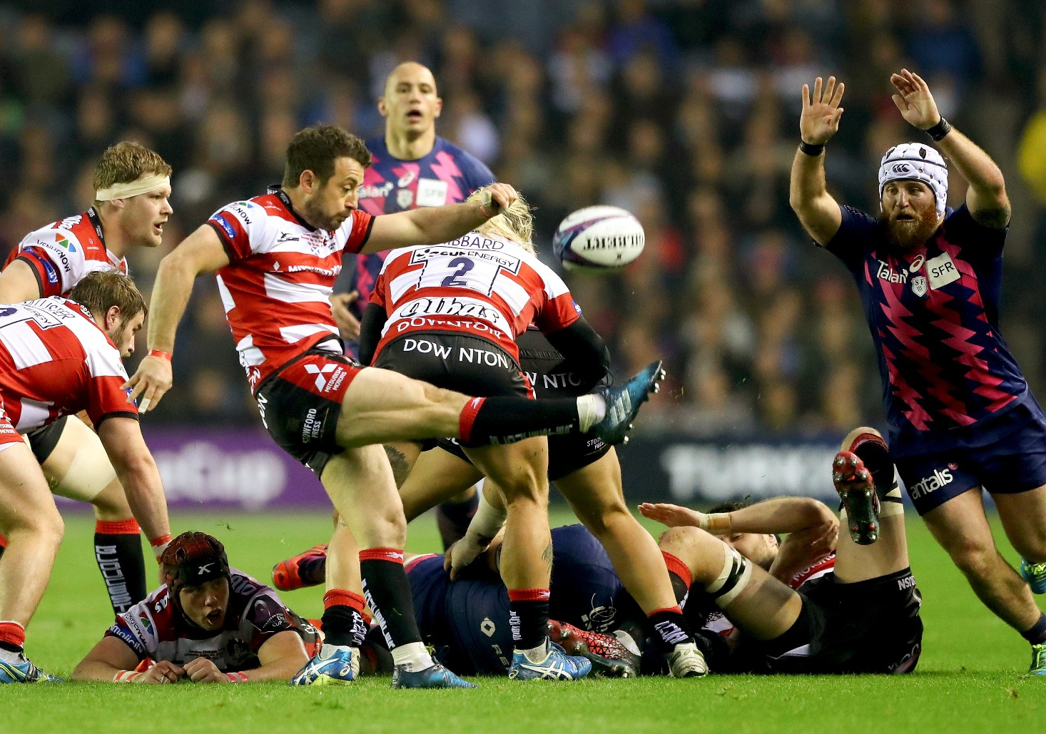 LionsWatch: Moriarty scores try as Gloucester lose Challenge Cup final