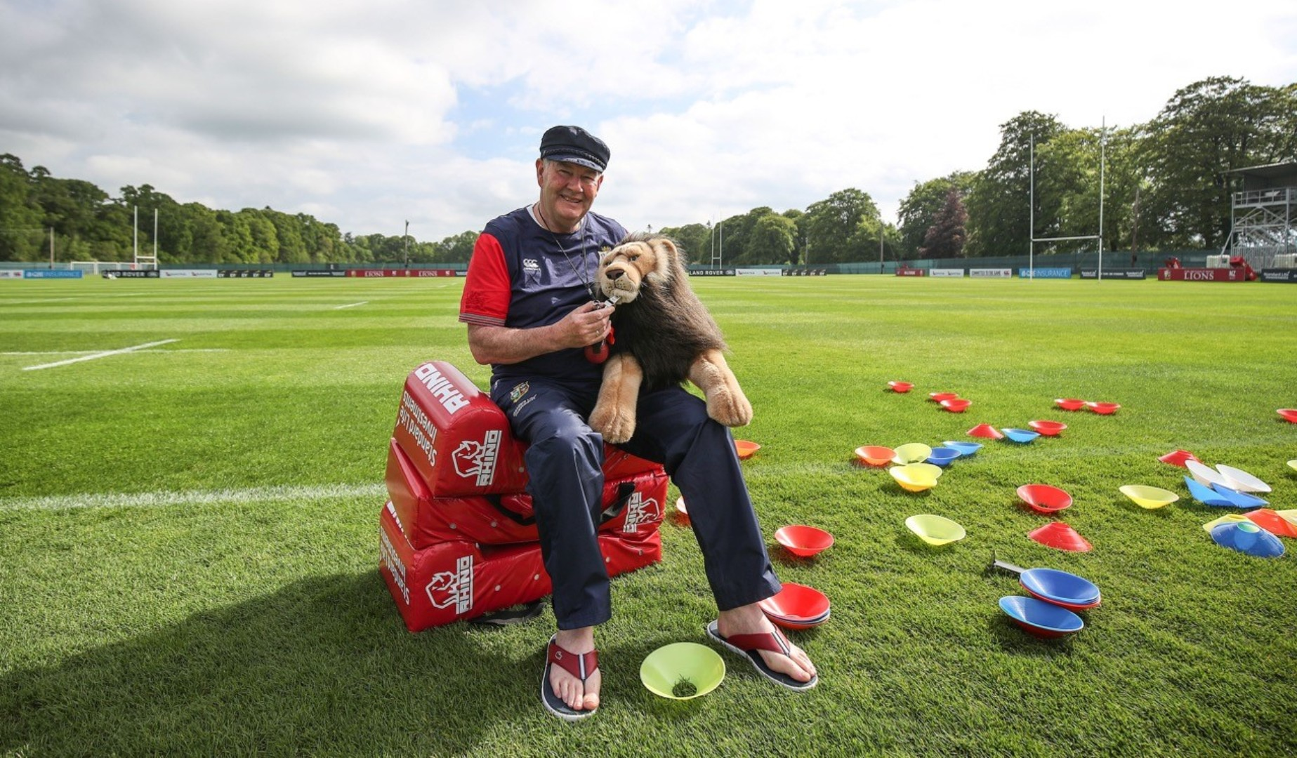 Lions in Ireland for training week two