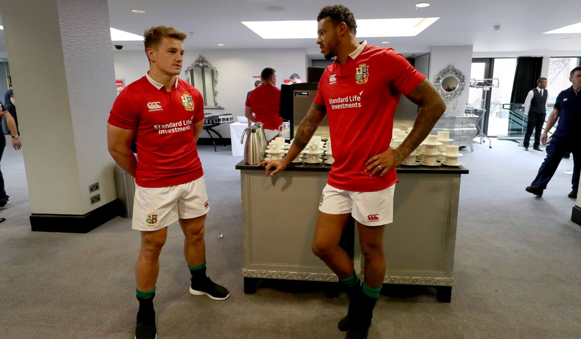 Lawes and North aim to take Saints to European play-off final