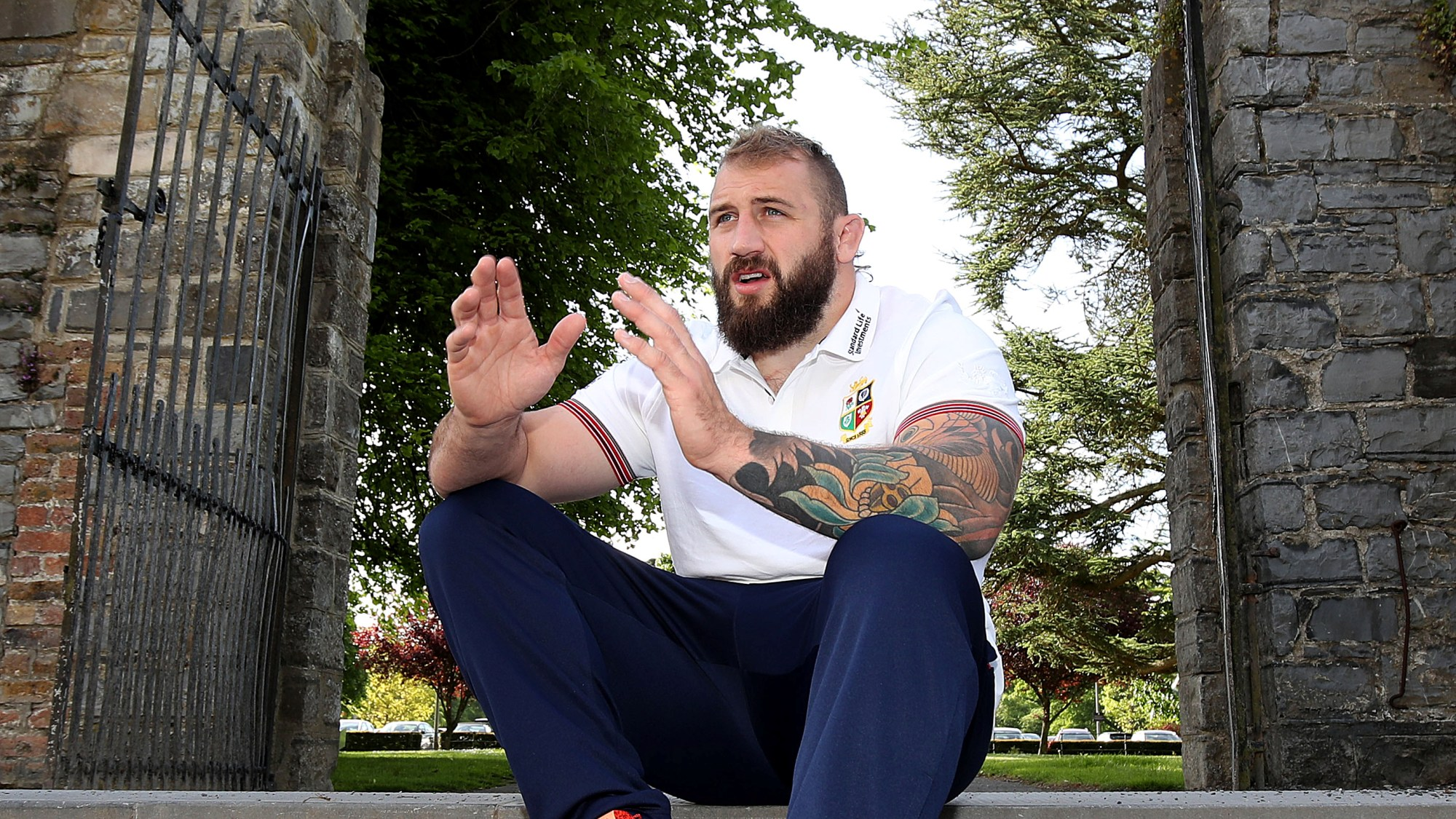Joe Marler dishes on life in camp with the Lions