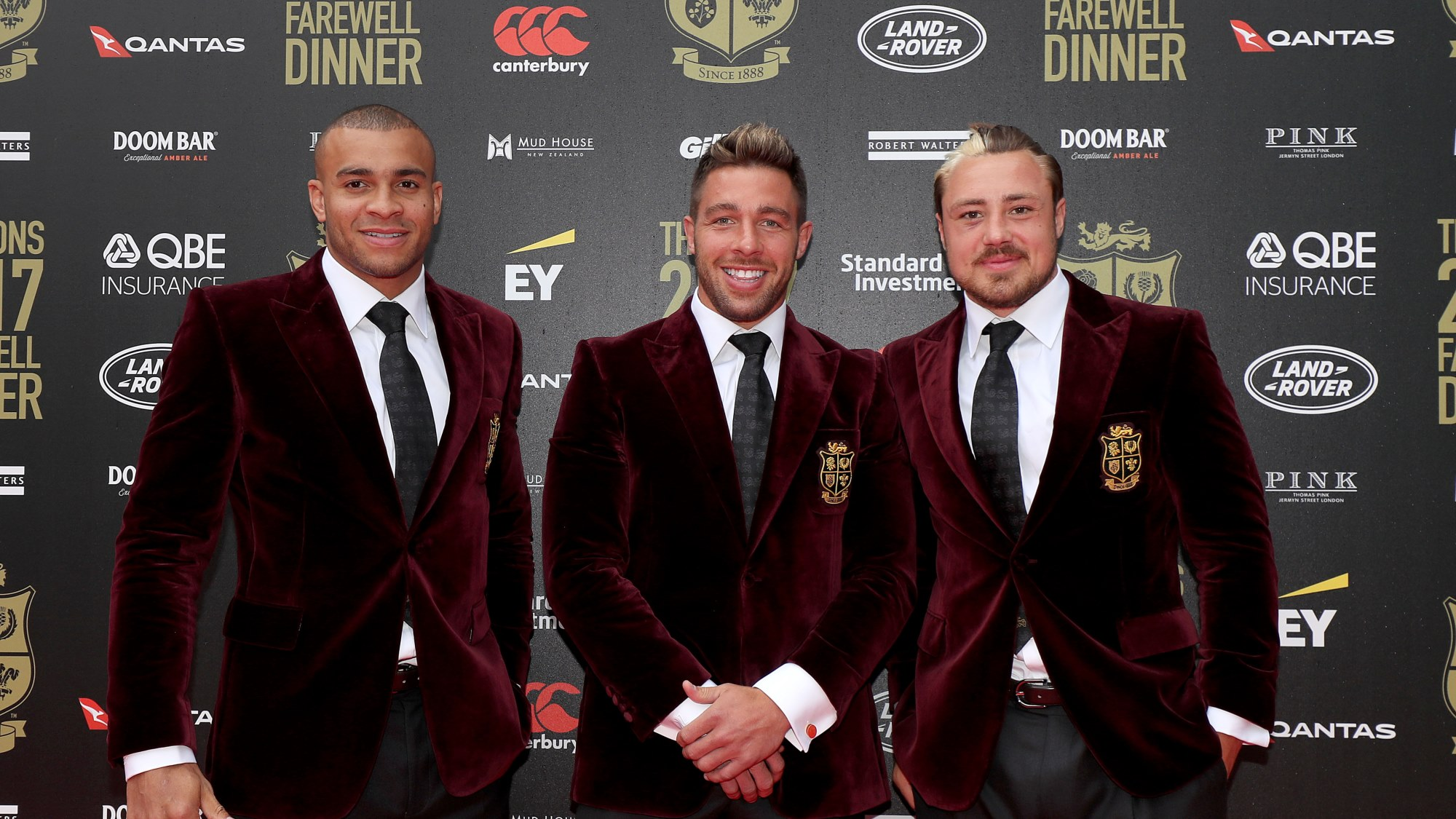 2017 Squad enjoy Farewell Dinner in London