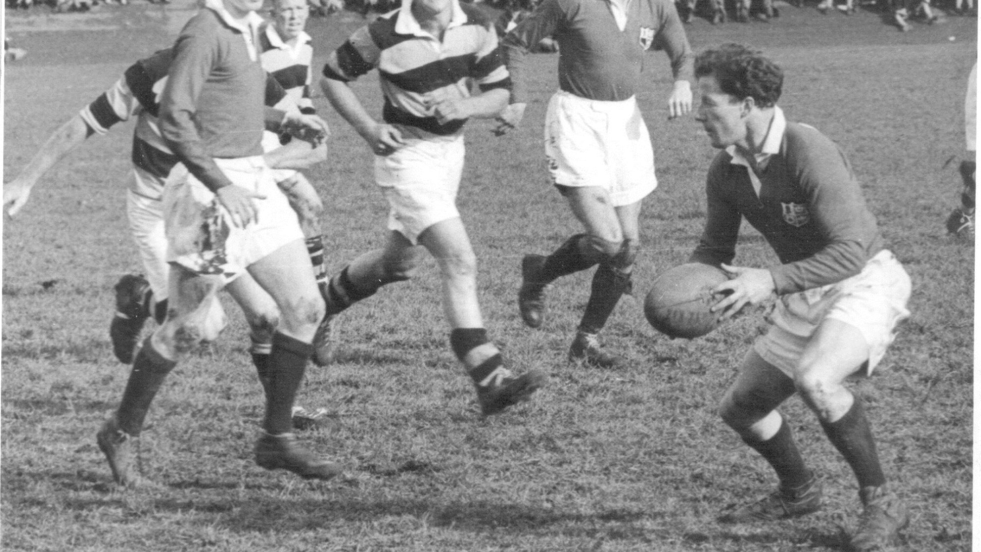 Classic Match: Jack Kyle stars as 1950 Lions draw first Test v All Blacks