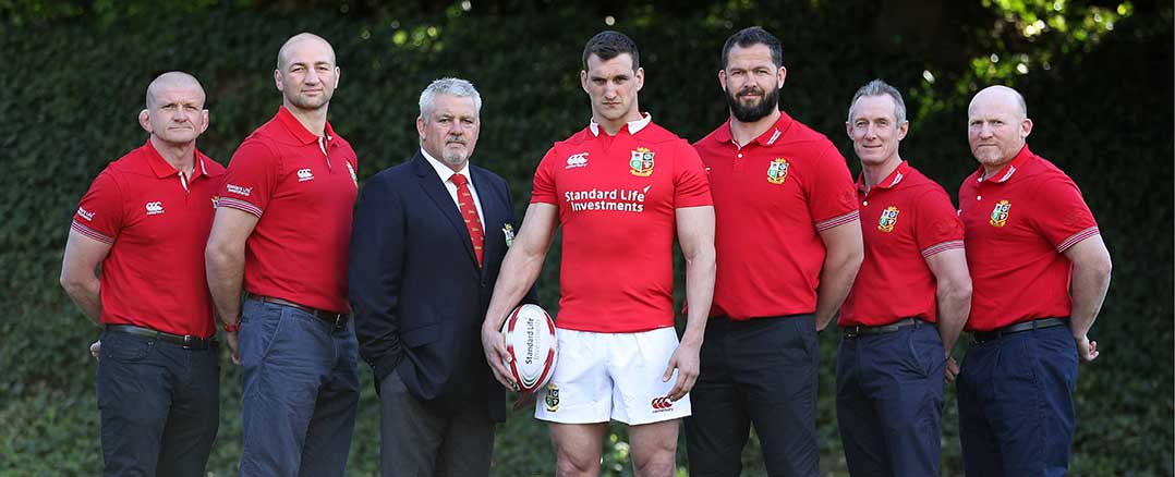 4874d7b9 British & Irish Lions | British & Irish Lions Squad Announcement
