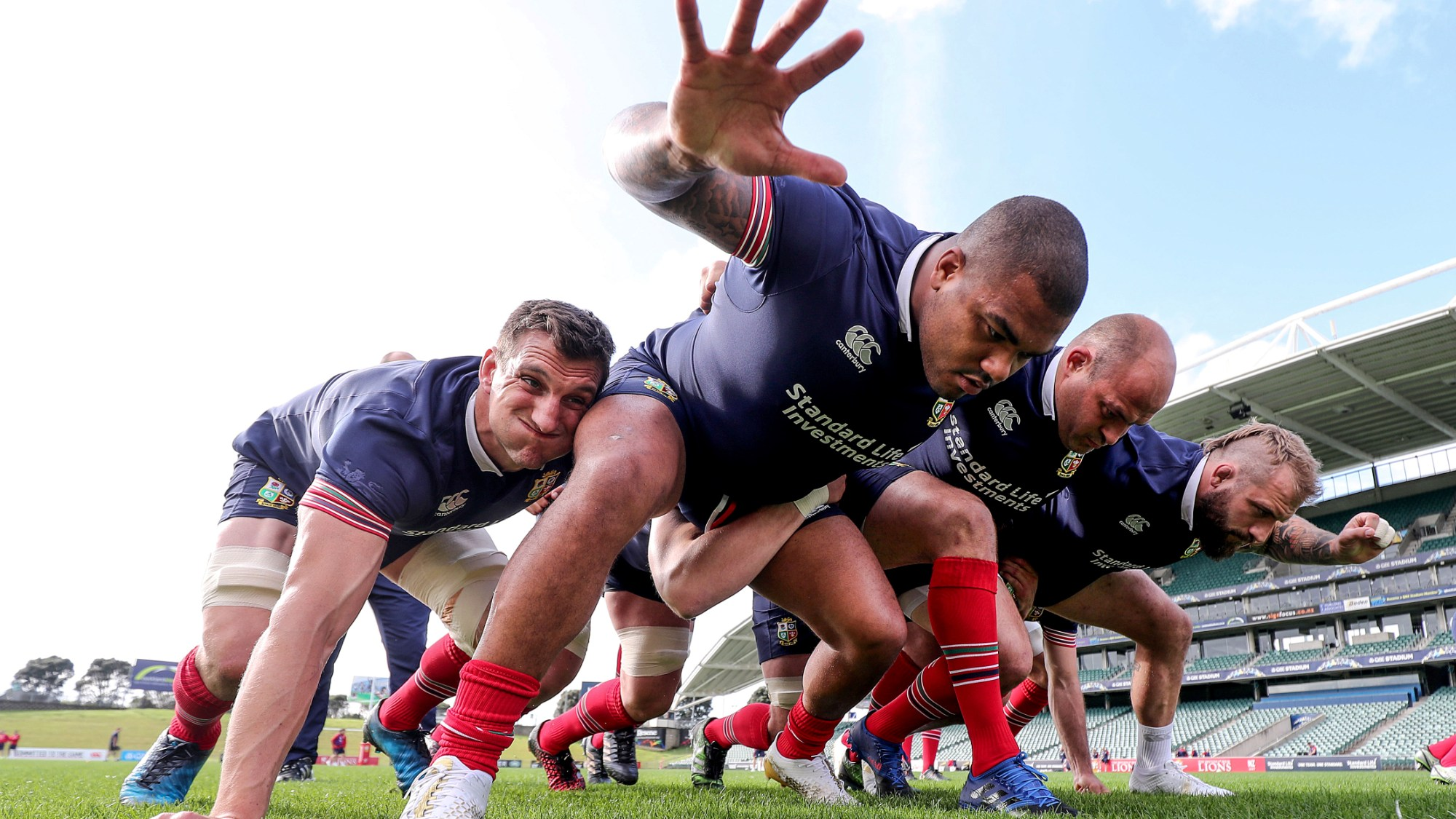 Sinckler in 'rugby heaven' before Lions debut
