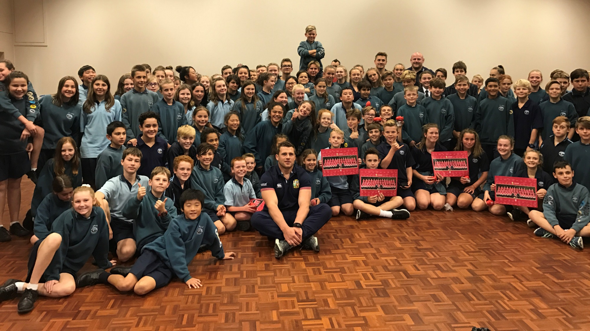 The Lions hit the road with 12 community visits