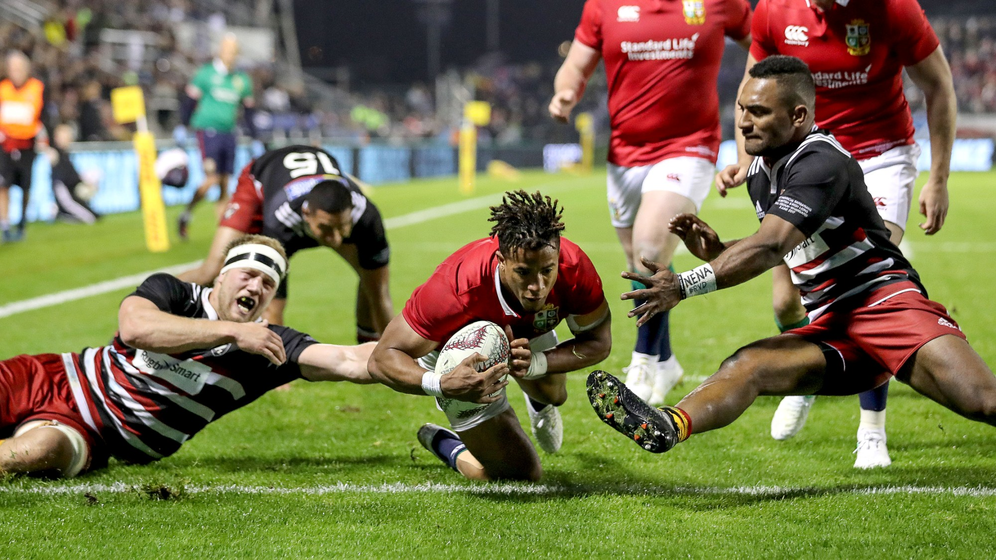 Lions overcome NZ Provincial Barbarians in Tour opener
