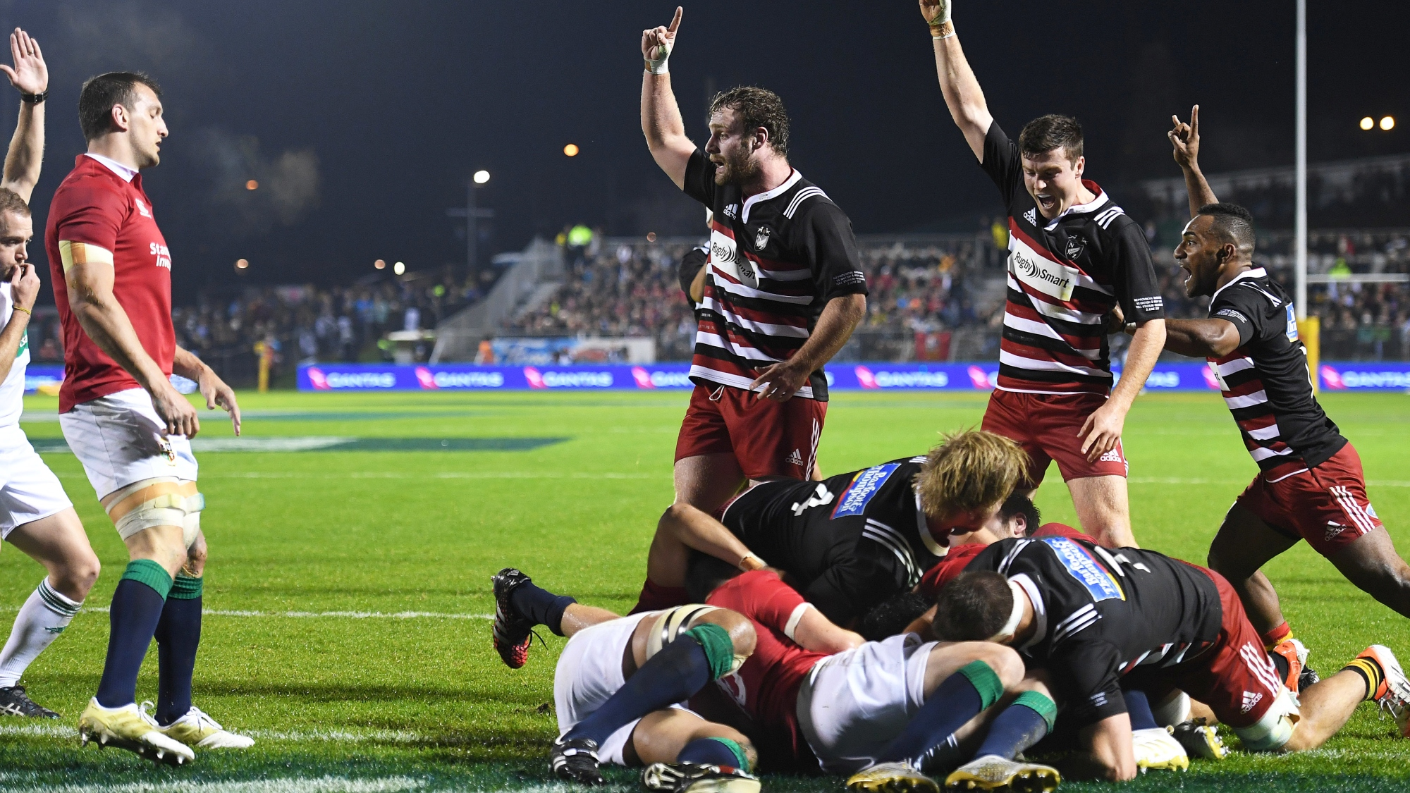 McMillan delighted with Barbarians attitude despite loss