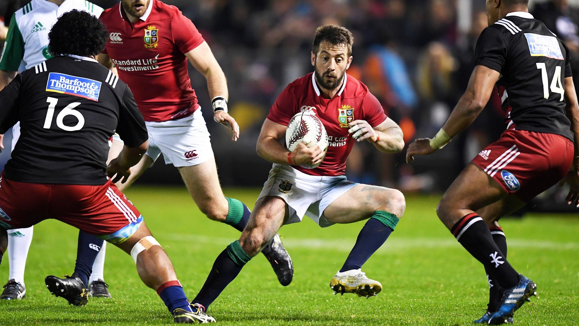 Laidlaw and Russell team up in half-backs
