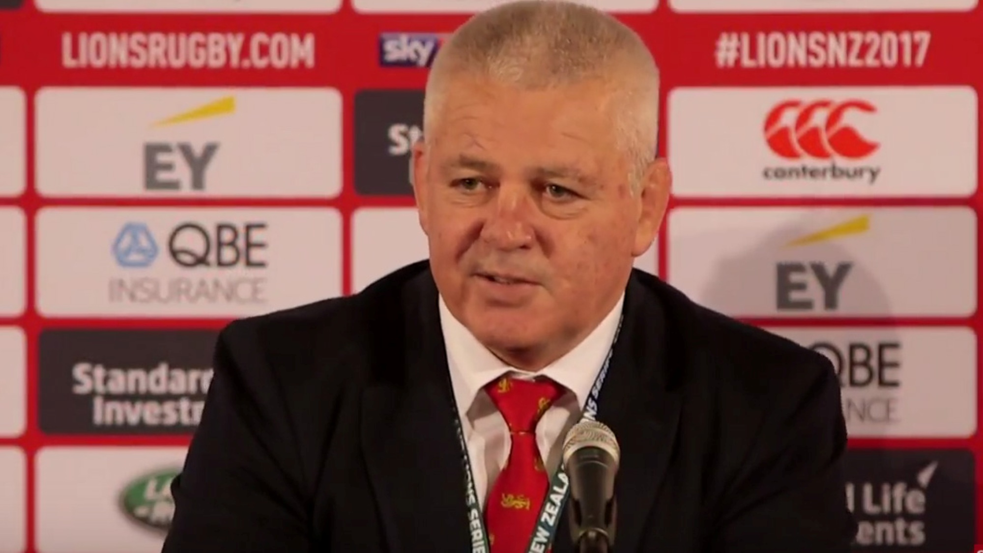 VIDEO: Gatland and Warburton pleased with testing opening victory