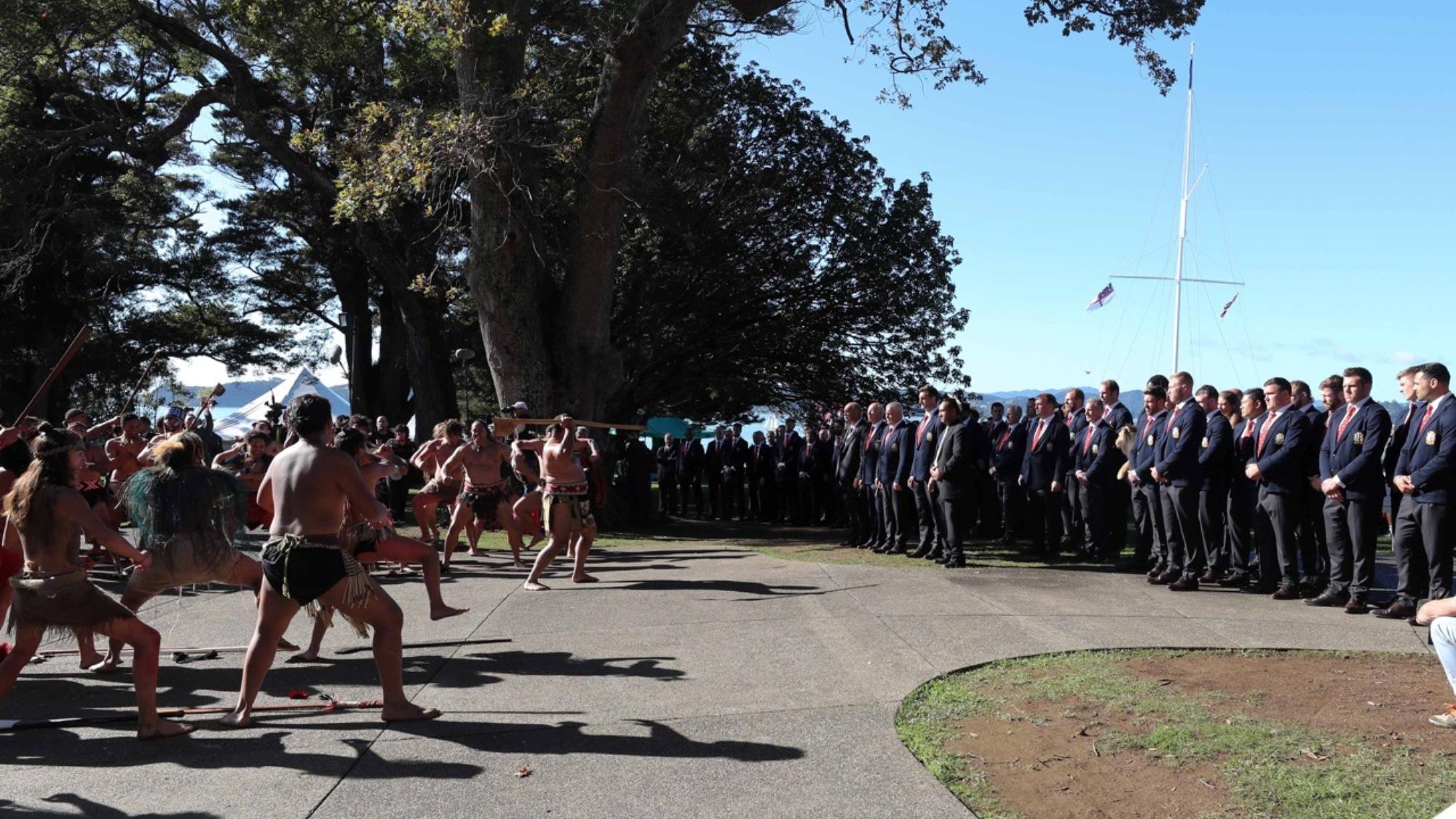 Wonderful Waitangi welcome for Lions