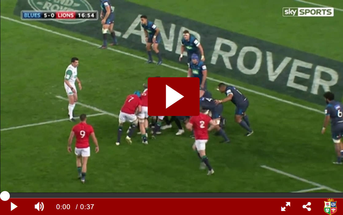 Video: Stander scores try after strong maul