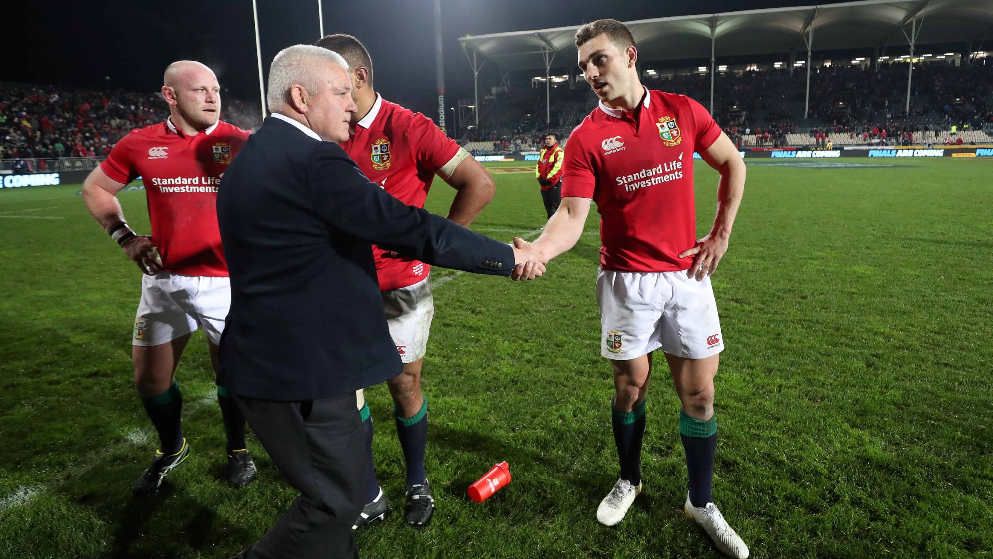 Gatland backs Lions to improve following crucial victory