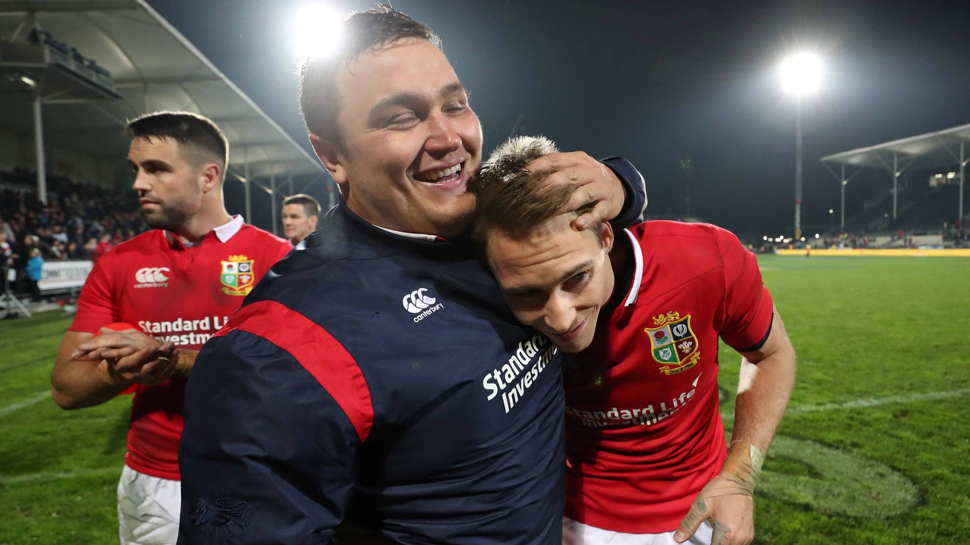 George thrilled at how Lions are gelling