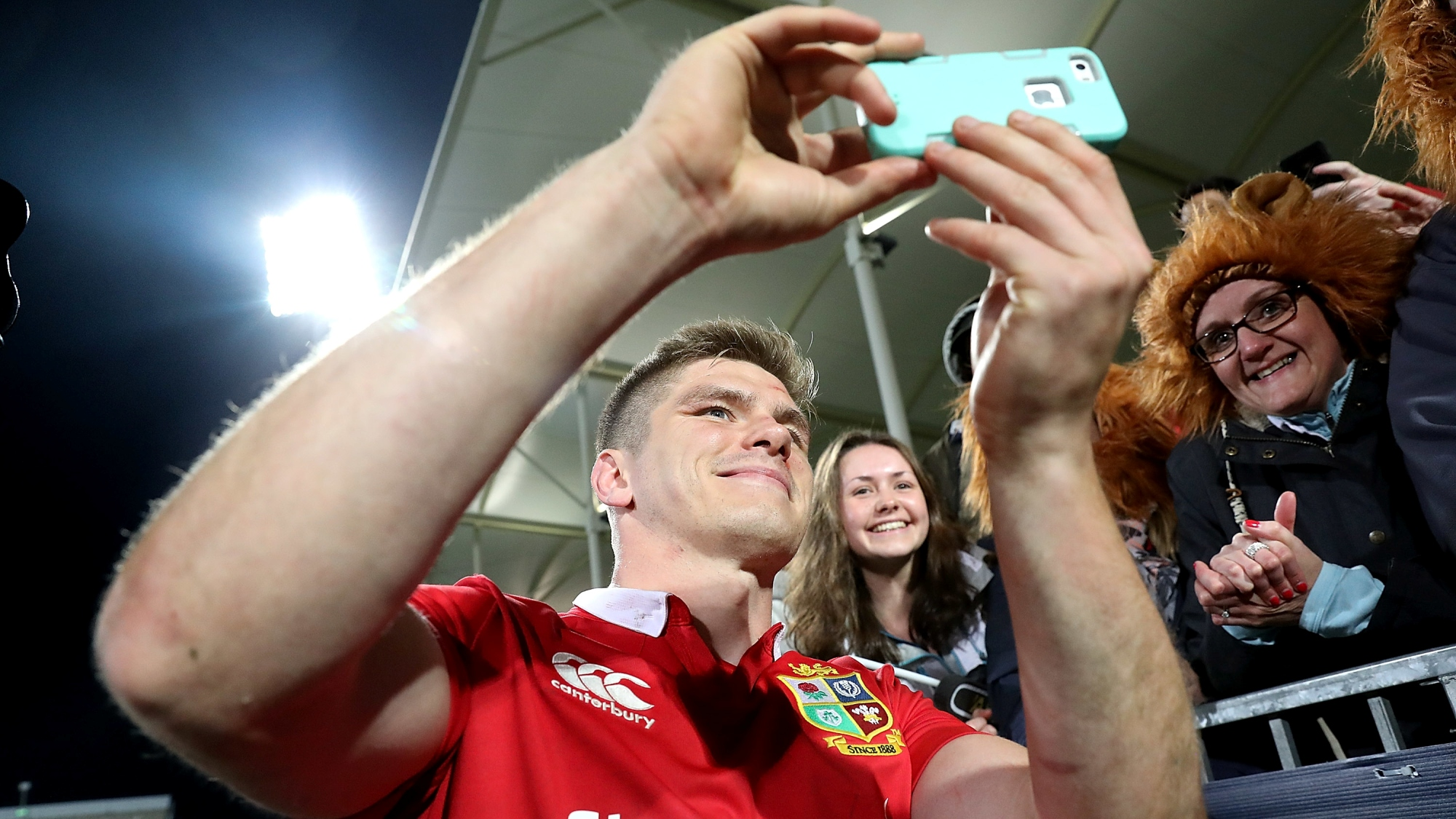 All For One: When Owen Farrell turned photographer