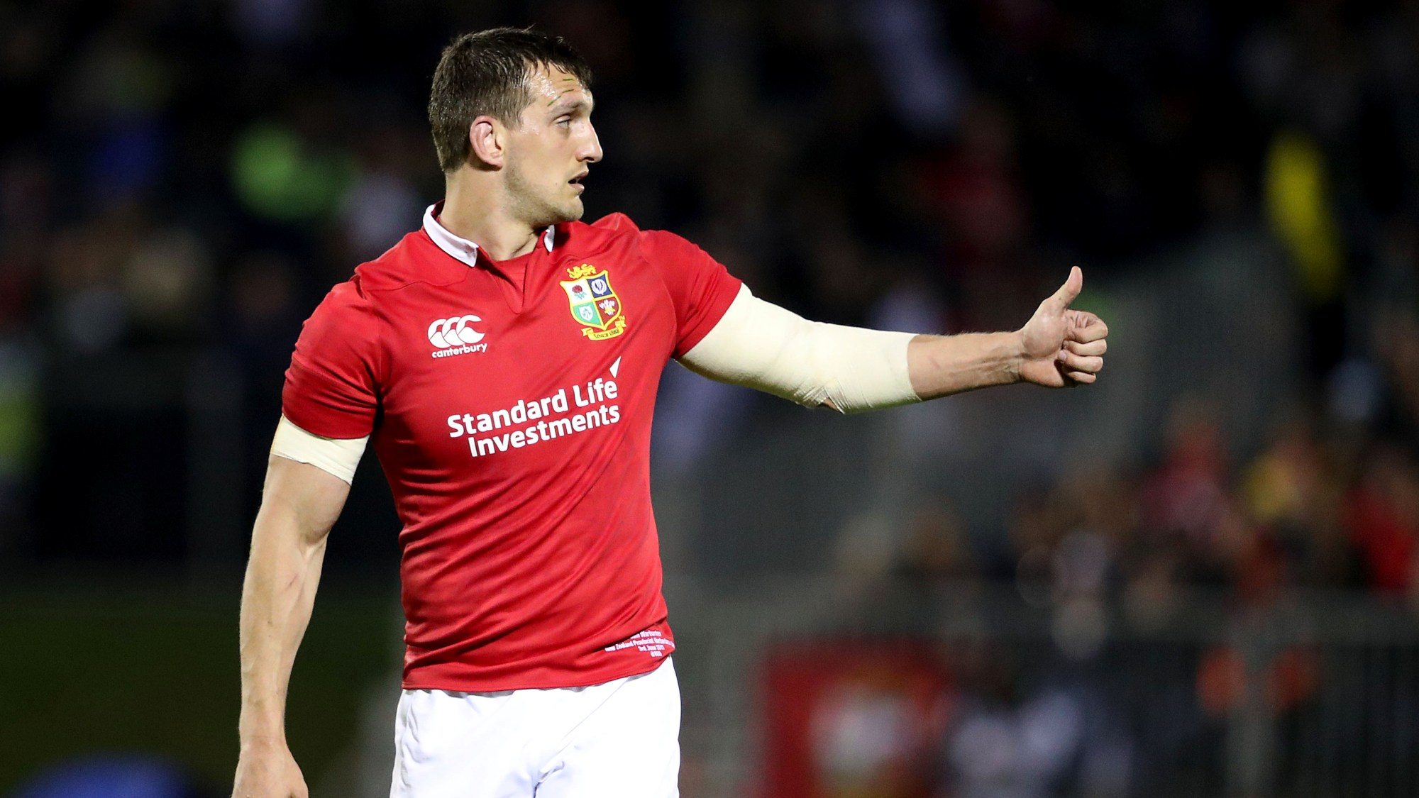 Warburton to lead Lions in second Test against All Blacks