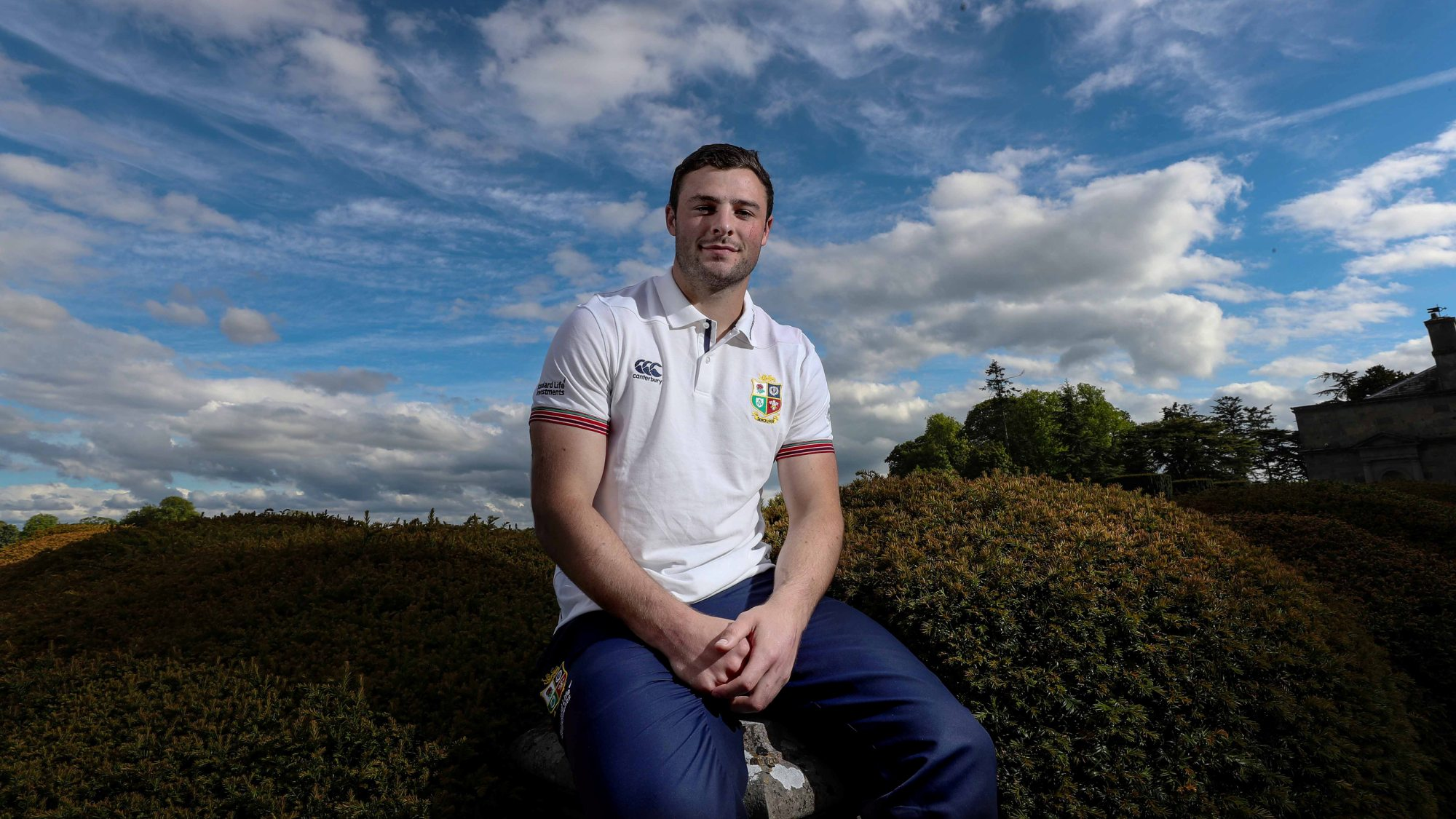 Robbie Henshaw dishes on life on Tour with the Lions