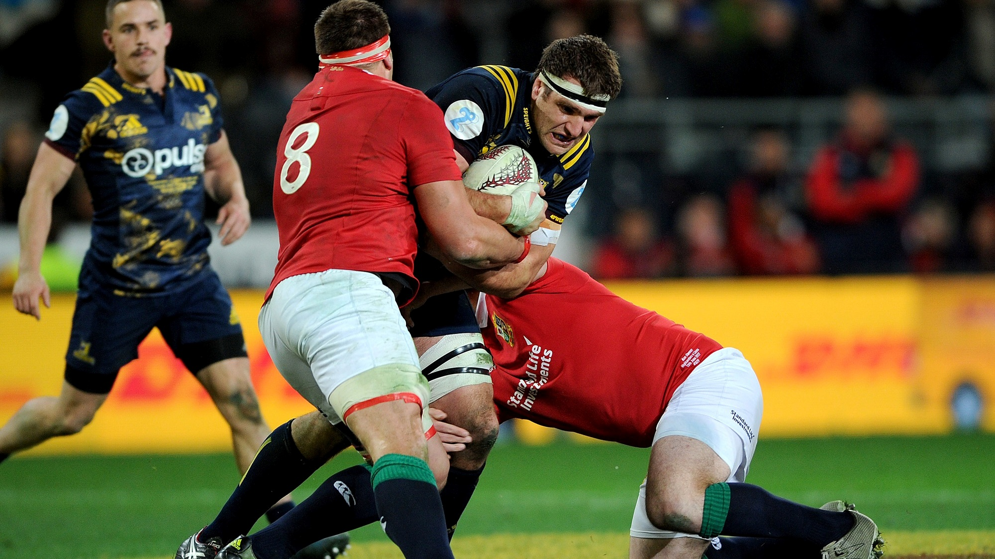 Delighted skipper Whitelock hails Highlanders' attitude after Lions win