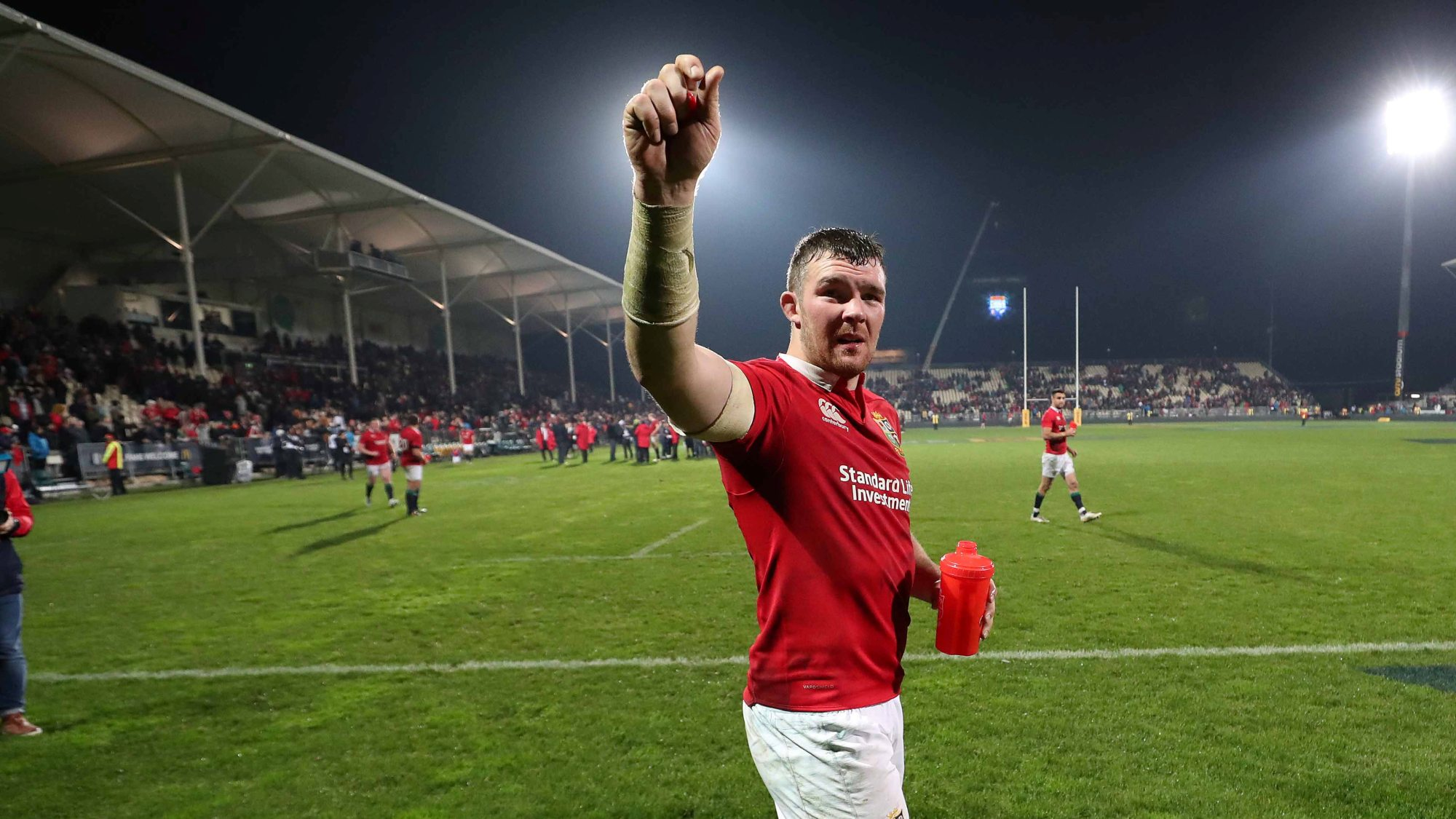 O'Mahony to captain British & Irish Lions in first Test