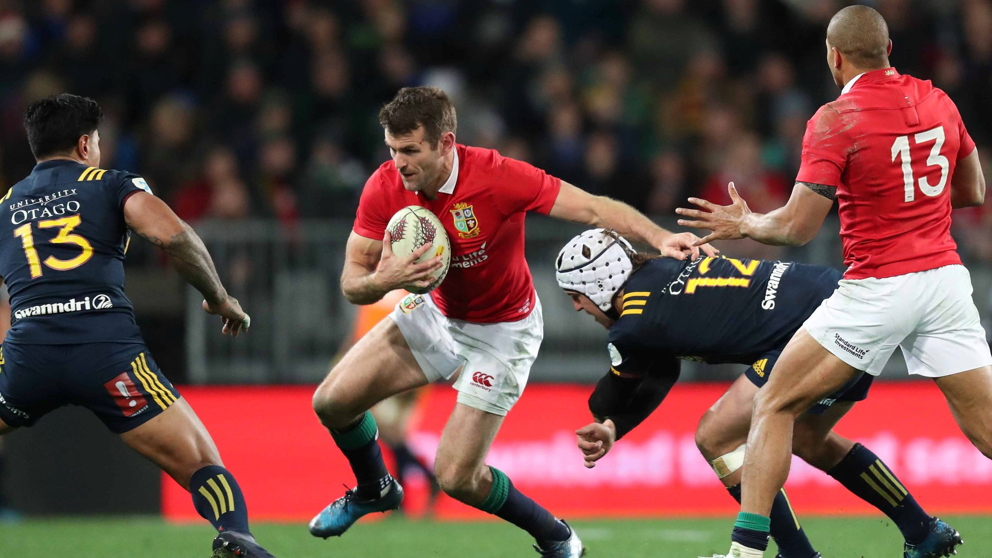 Payne ruled out of rest of Lions Tour
