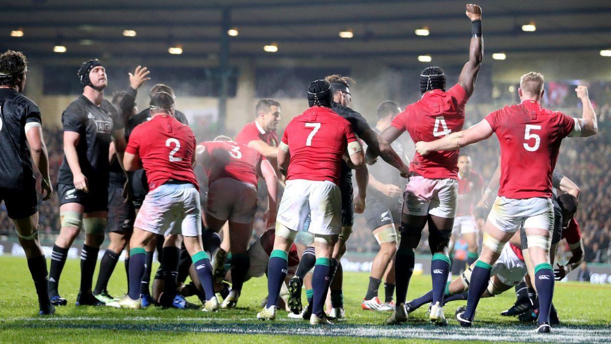 4d29507f1ae British & Irish Lions | Maori All Blacks v British & Irish Lions