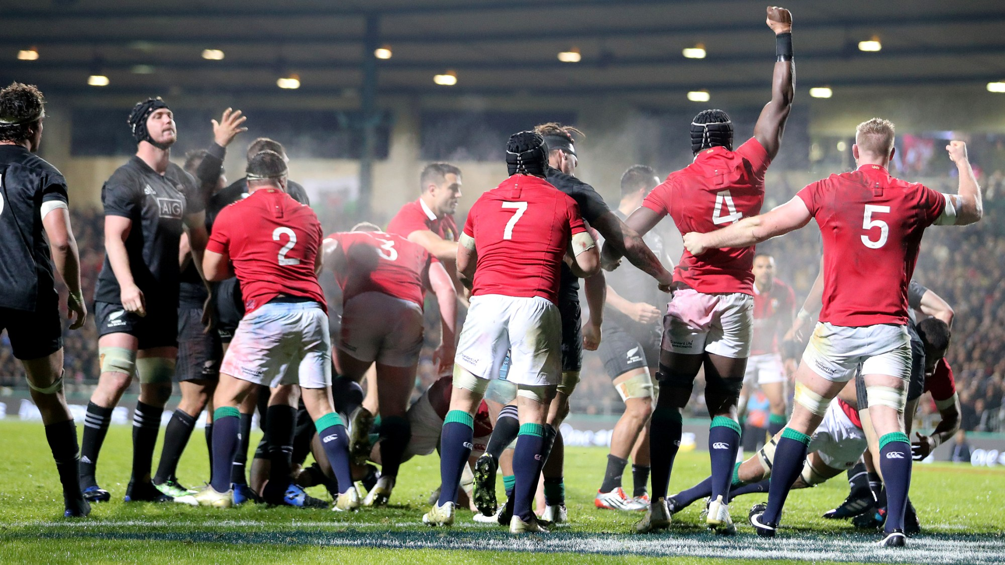 Lions power to victory over the Maori All Blacks