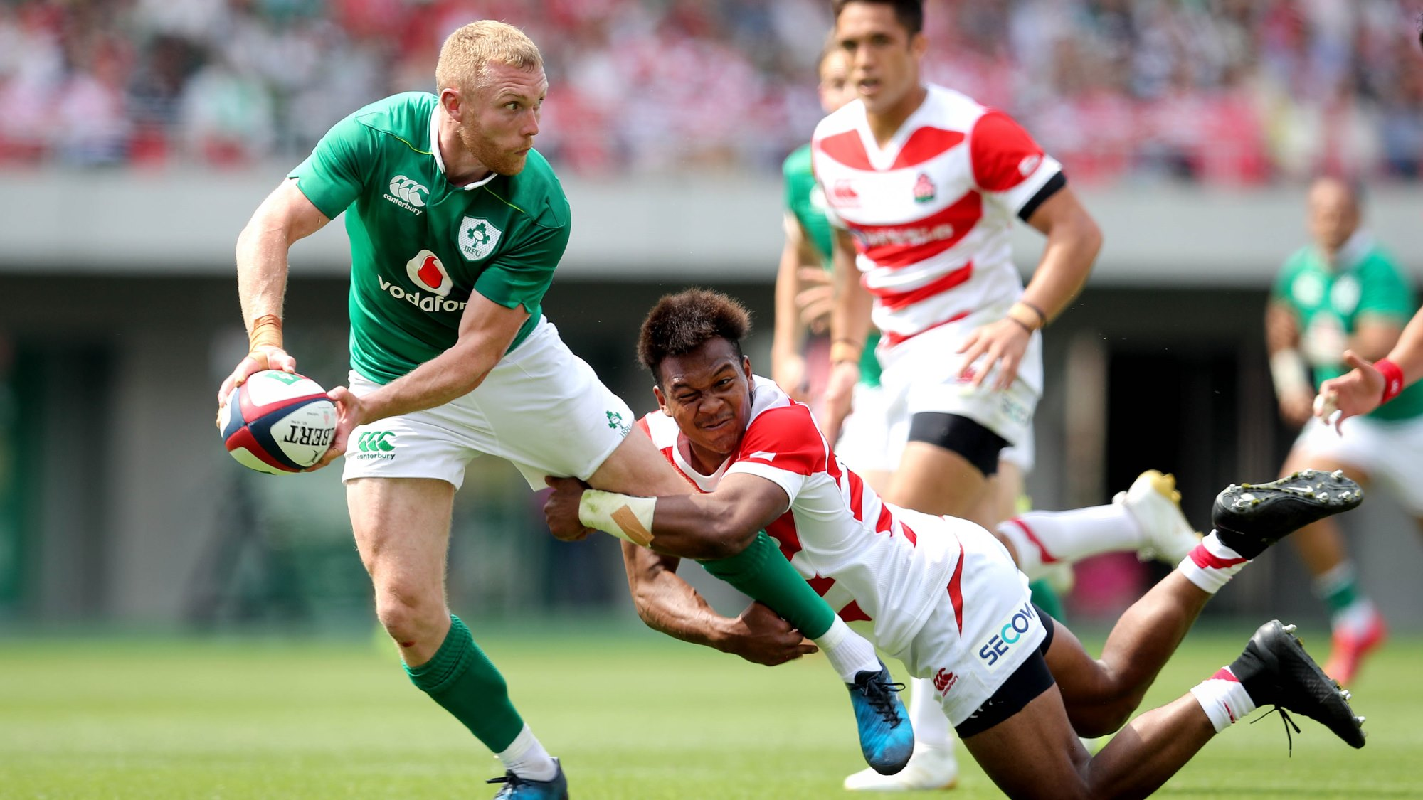 Ireland on form to ease past Japan