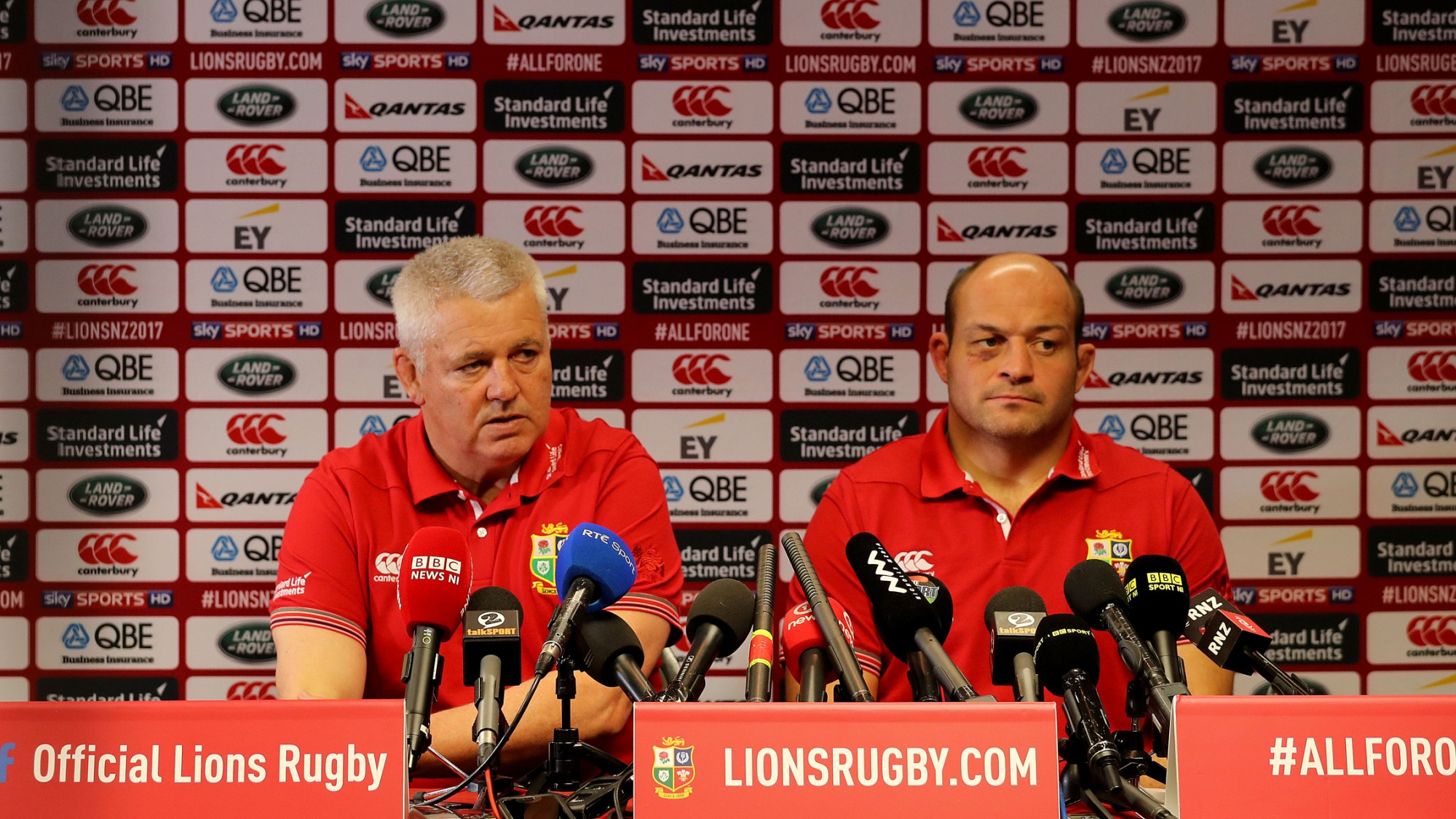 Gatland: Places are still available for the Test Series
