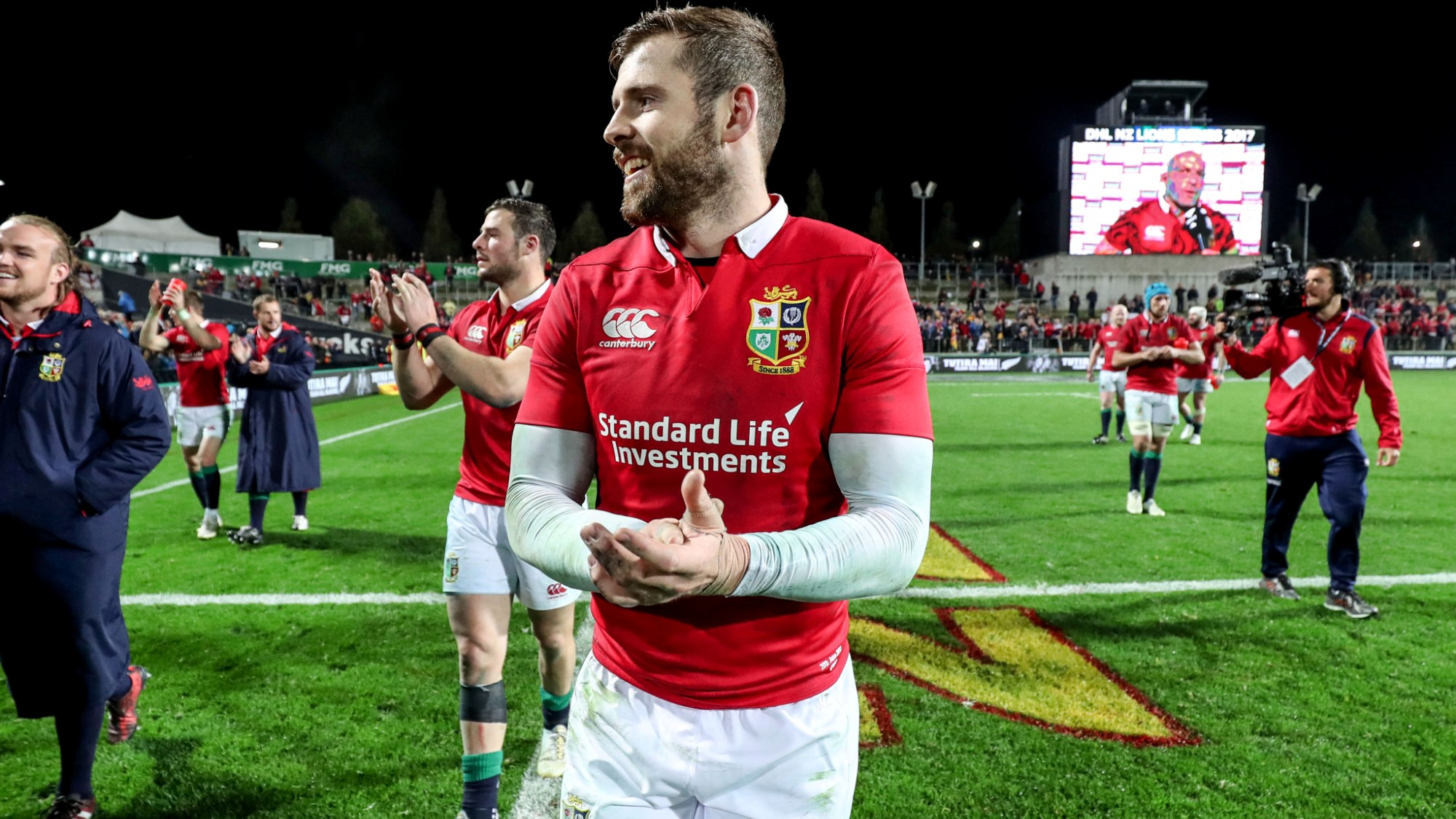 Buoyant Daly delighted with Lions attack