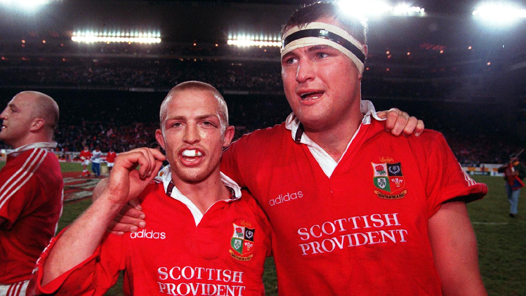 20 years on: Dawson sets the 1997 Lions on their way to a series victory in South Africa