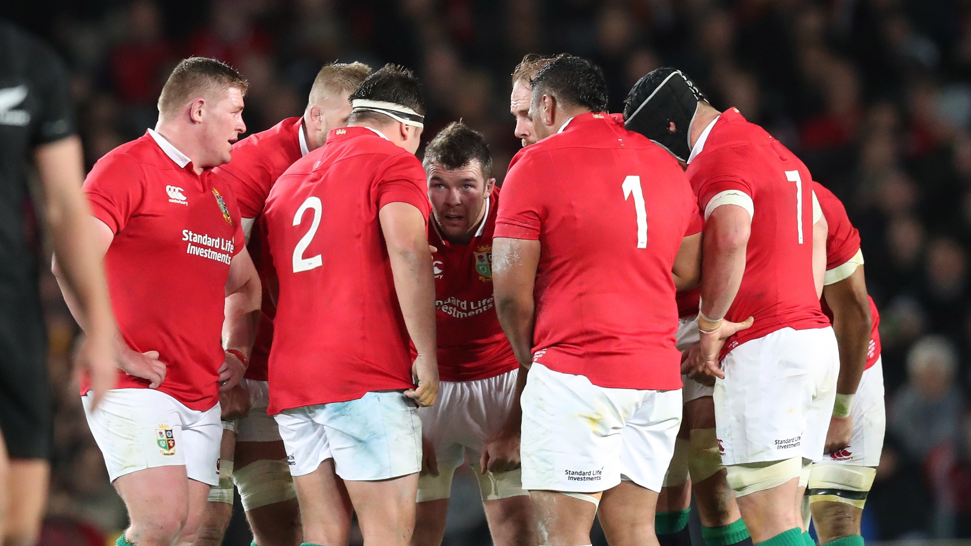 Warburton and Lions looking for response after first Test