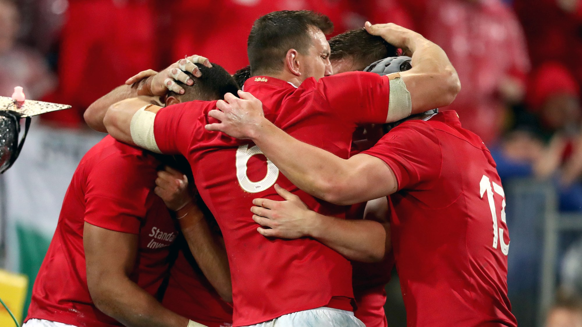 Gatland delighted with Lions courage and character in second Test win
