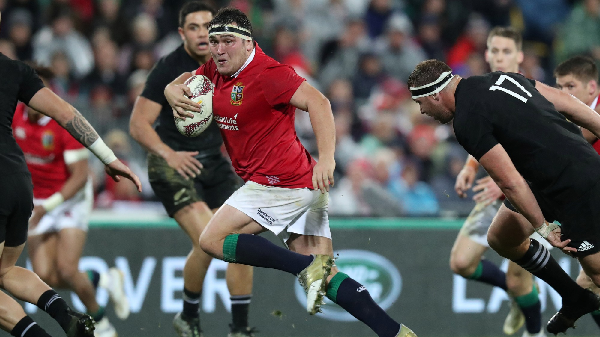 George wants Lions to control their emotions in decider