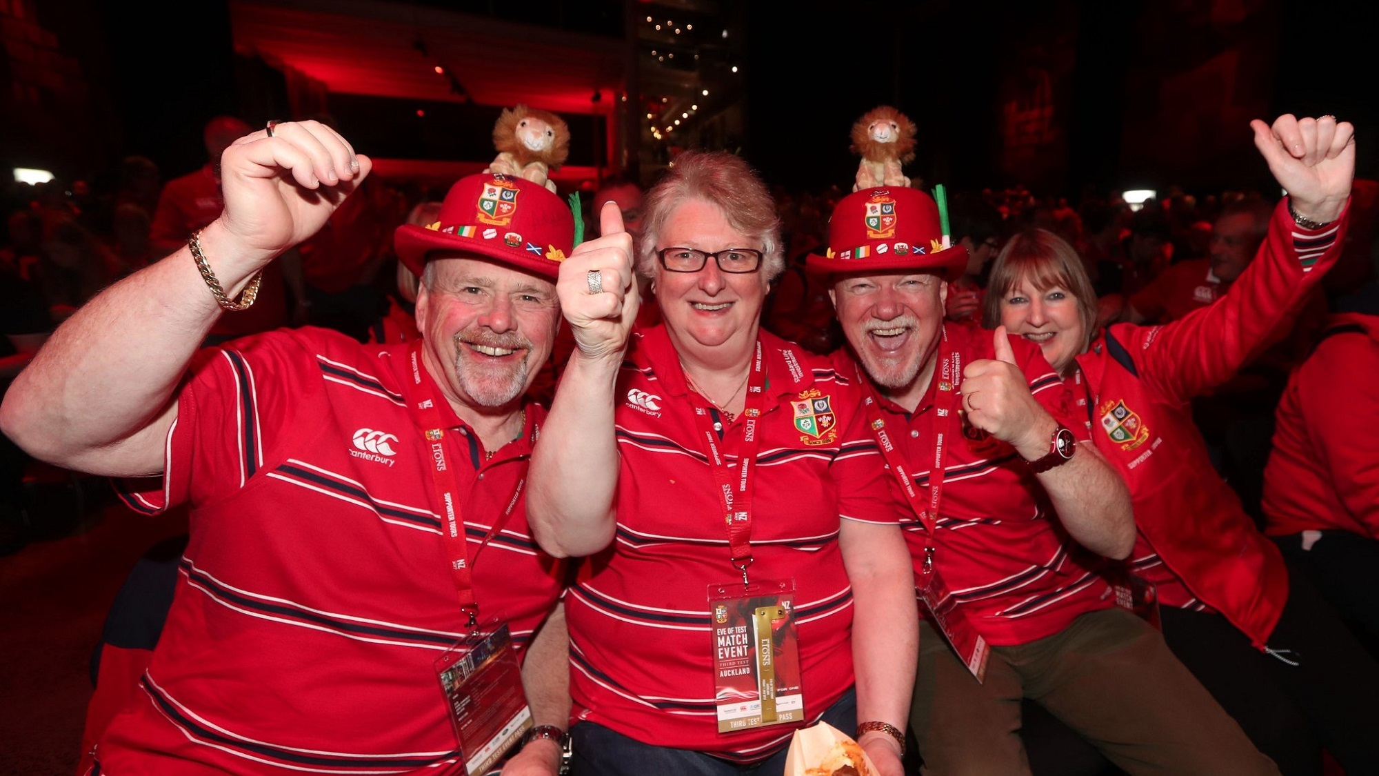 All for One: Lions supporters in Auckland ahead of final Test