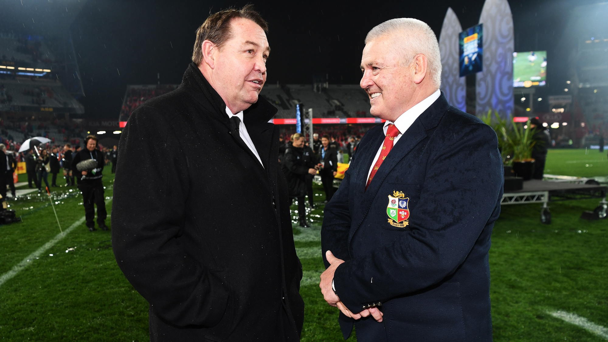 Hansen: Series was a great advertisement for rugby