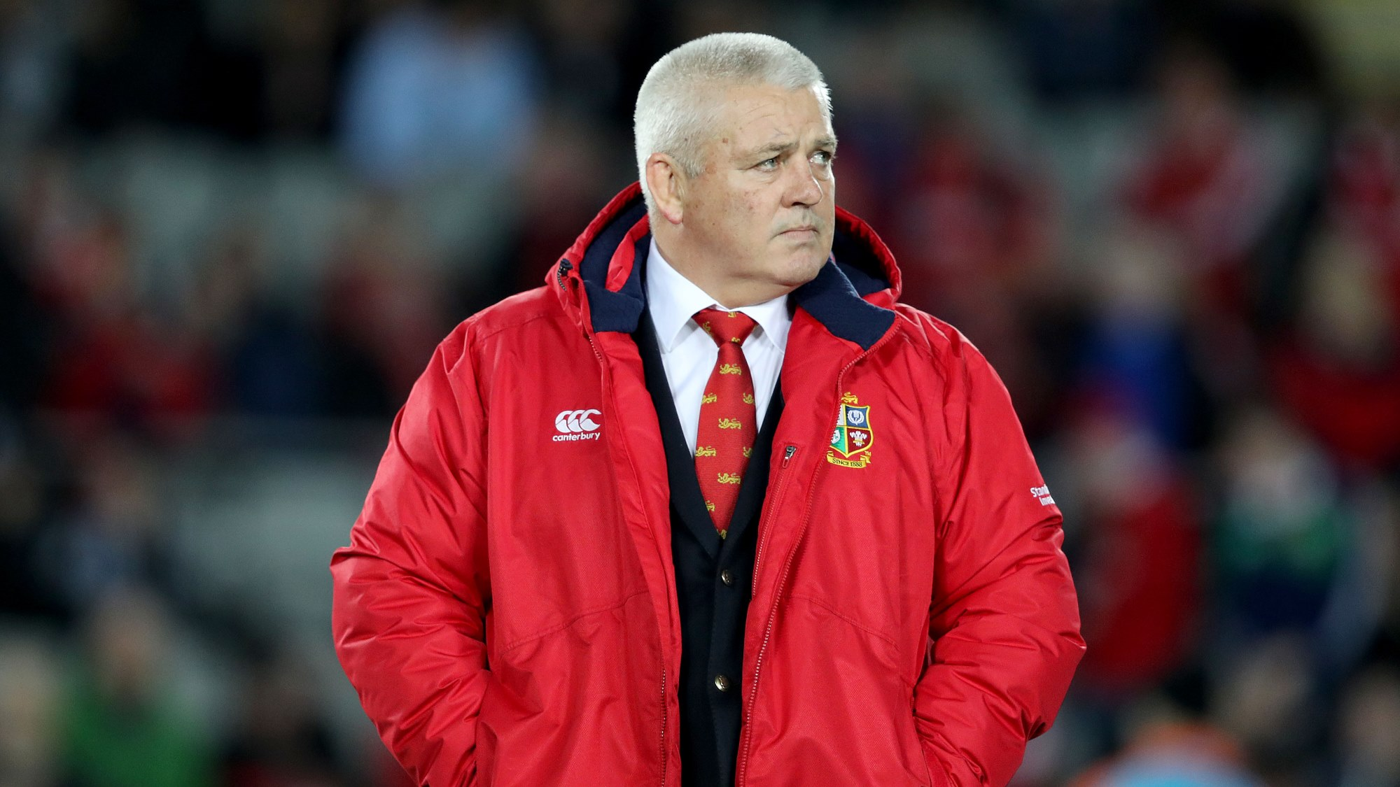 Gatland proud of playing squad and backroom staff after great series