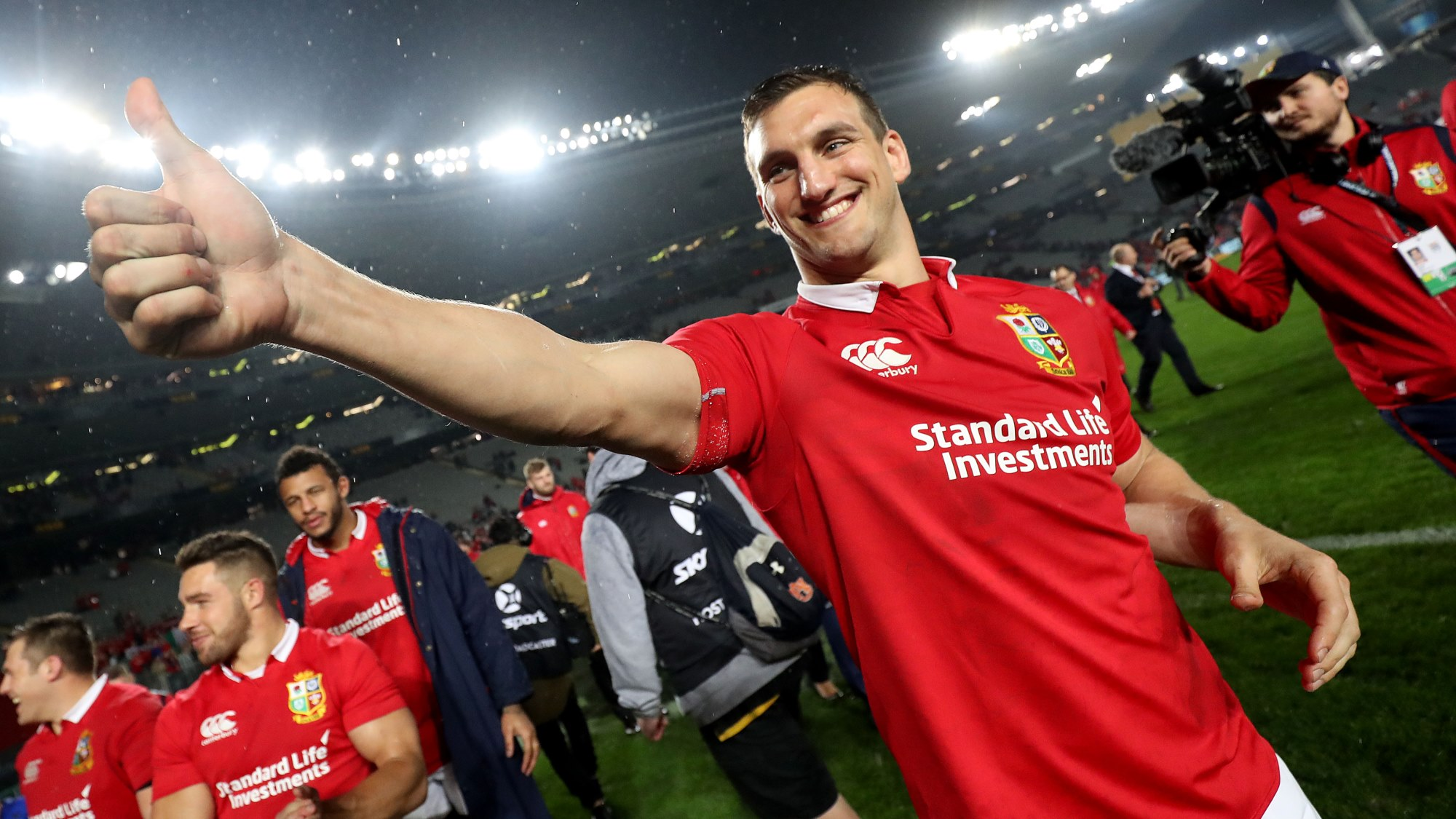 Warburton thanks amazing away support for pulling Lions through