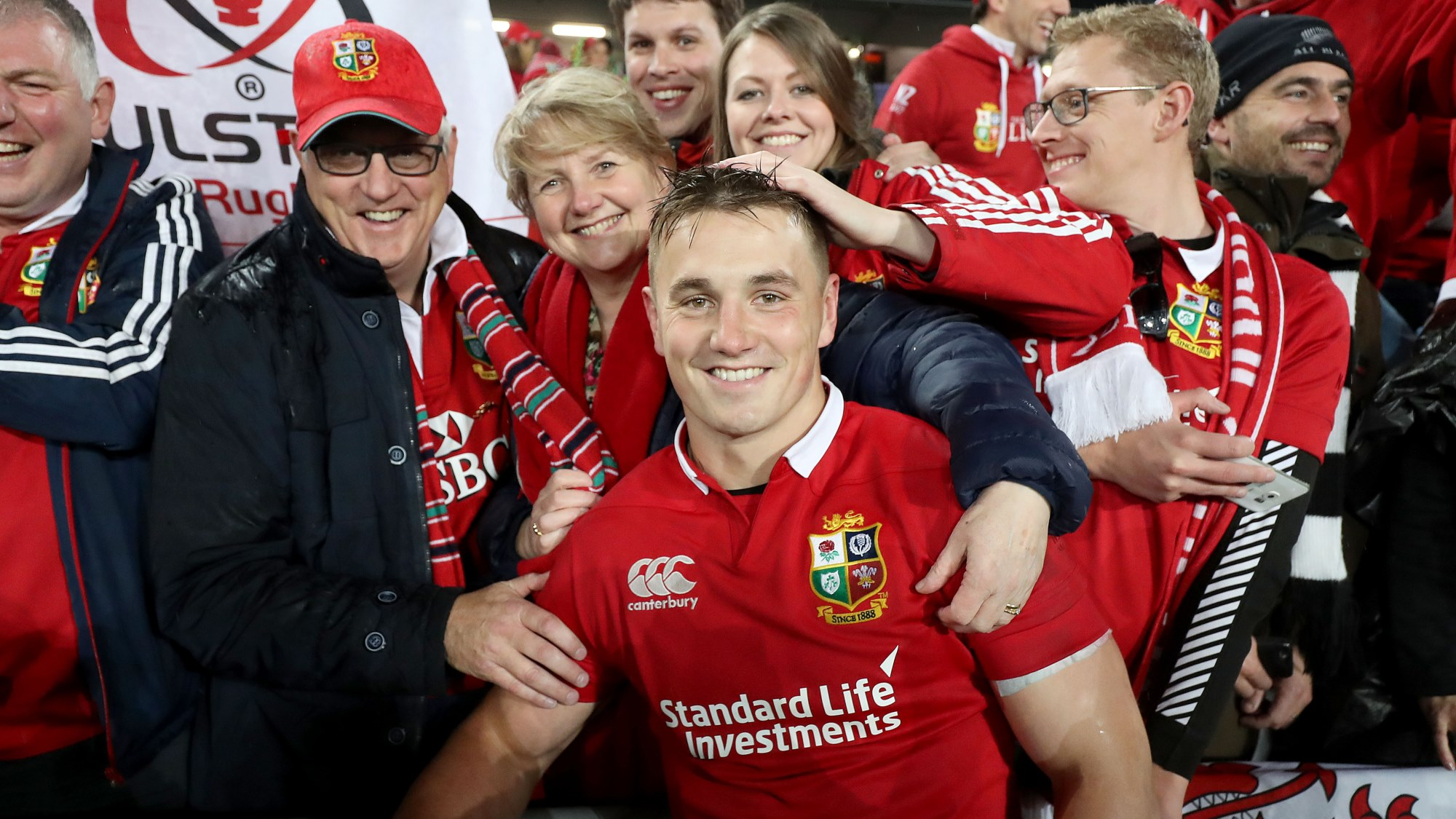 Jonathan Davies awarded The Standard Life Investments Lions' Lion of the Tour