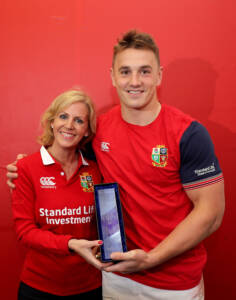 Jonathan Davies won a vote among the players