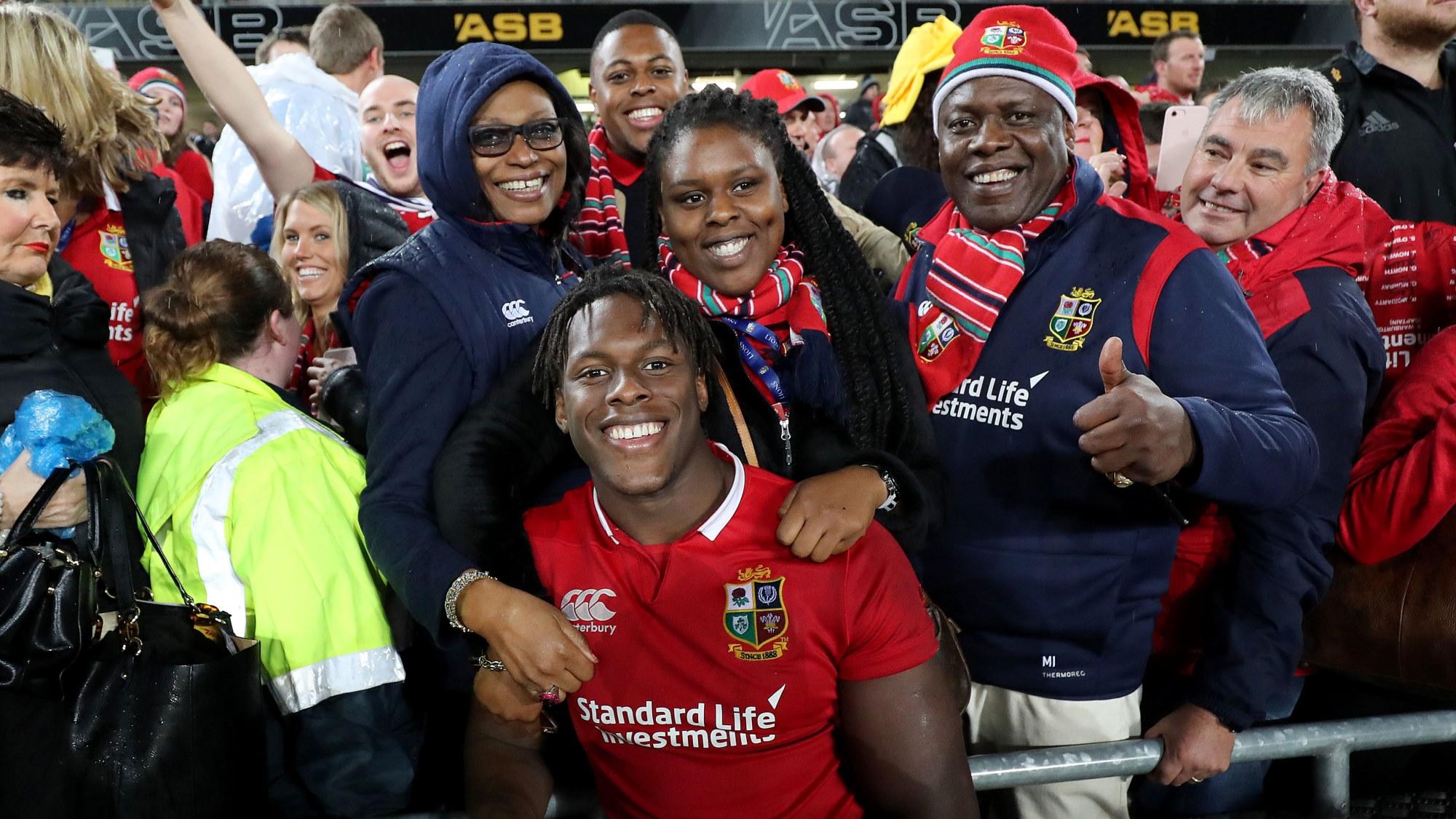Itoje hails 'unbelievable' Lions experience