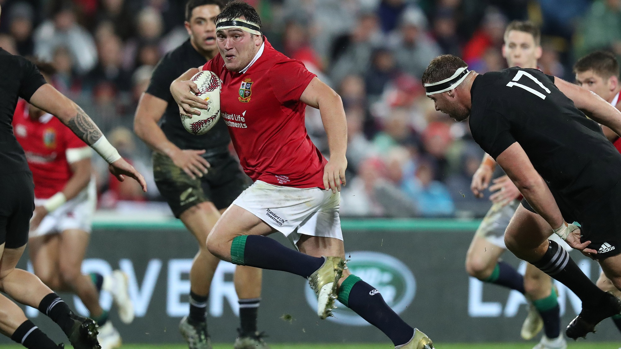 Jamie George: Second Lions Test is my benchmark