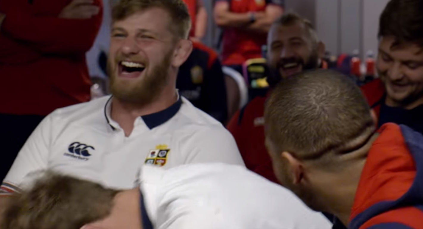 Lions Uncovered Clip: Siri intervenes at Andy Farrell meeting
