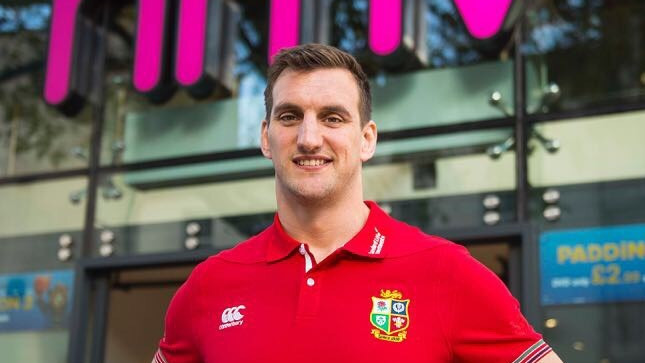Sam Warburton launches 'Lions Uncovered' in Cardiff