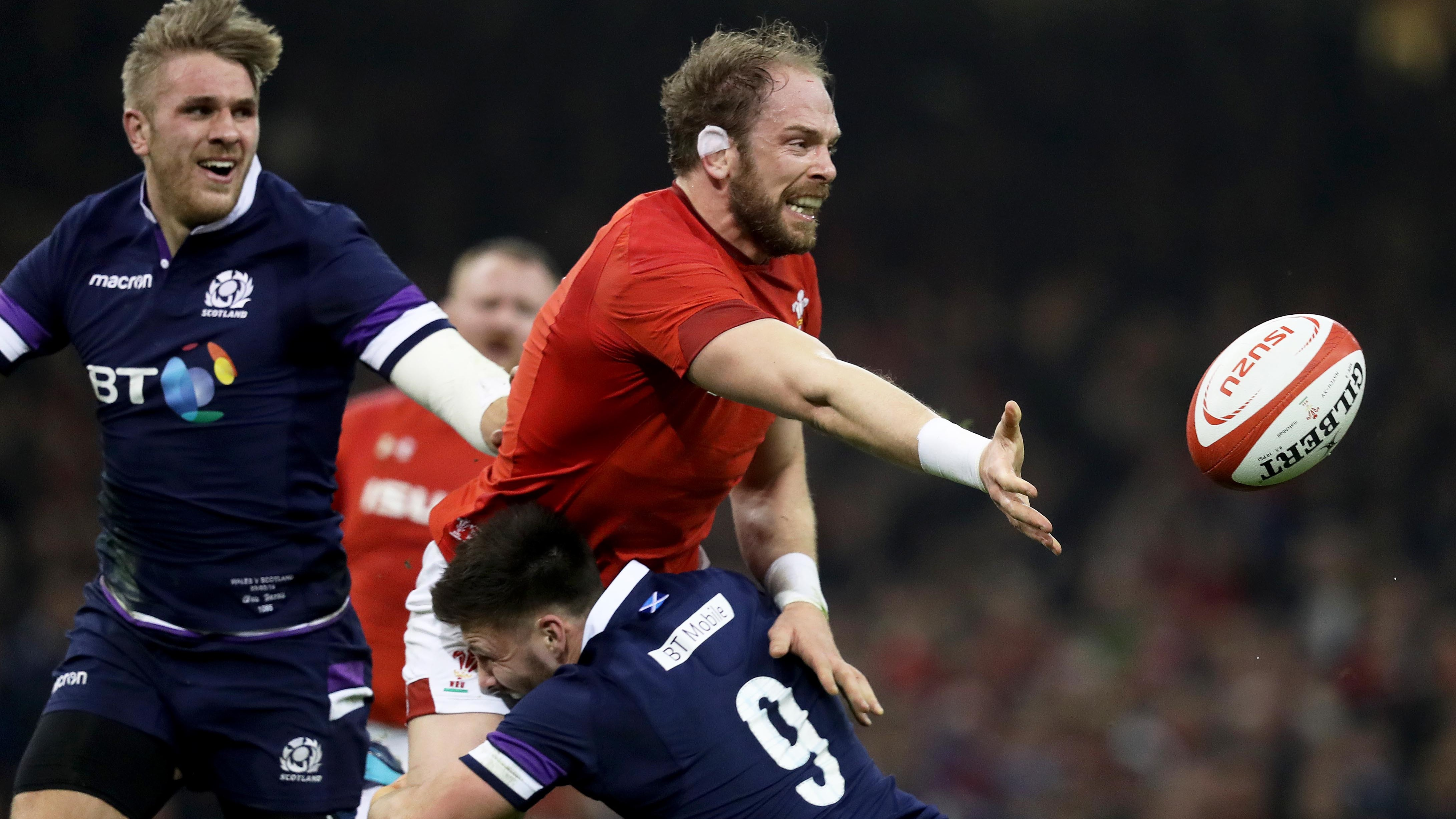 Wales, Ireland and England win Round One clashes