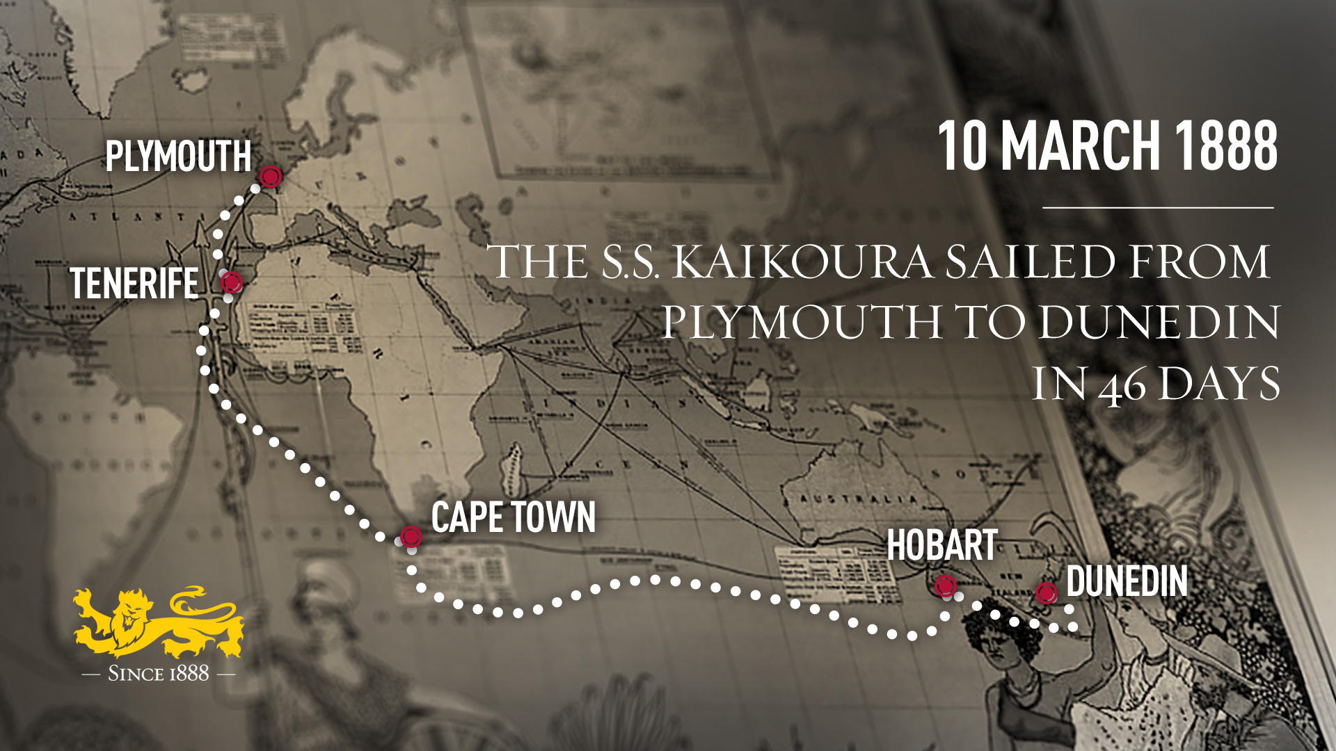 The 1888 Pioneers: The Journey to the Other side of the World – Part Two