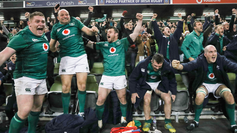 Superb Ireland claim statement win over New Zealand in Dublin