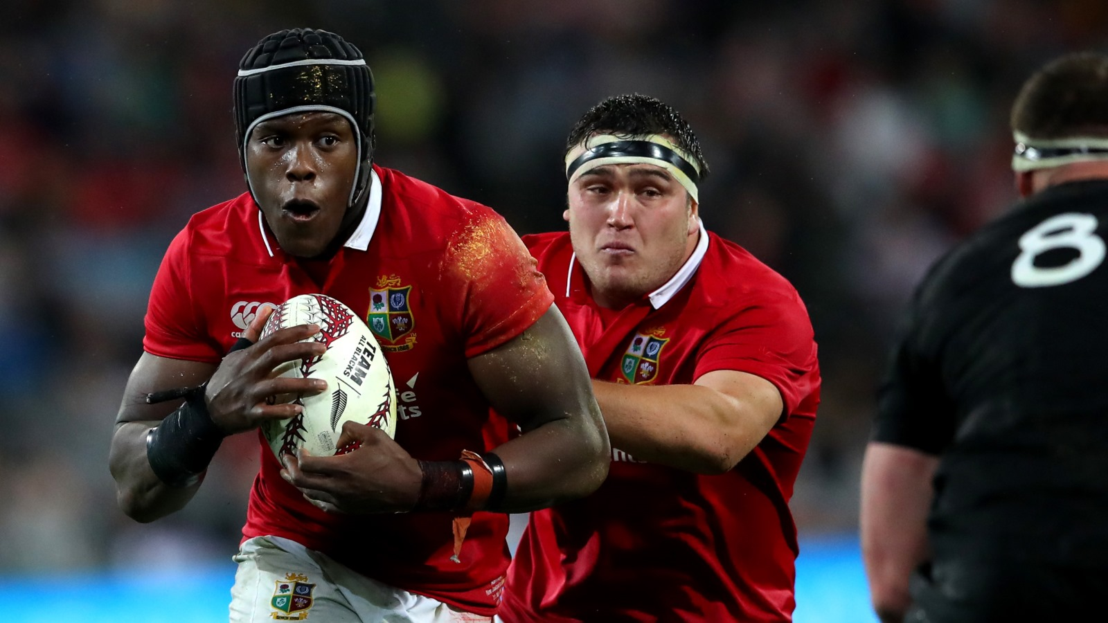 Lions star Itoje steals the show in Europe
