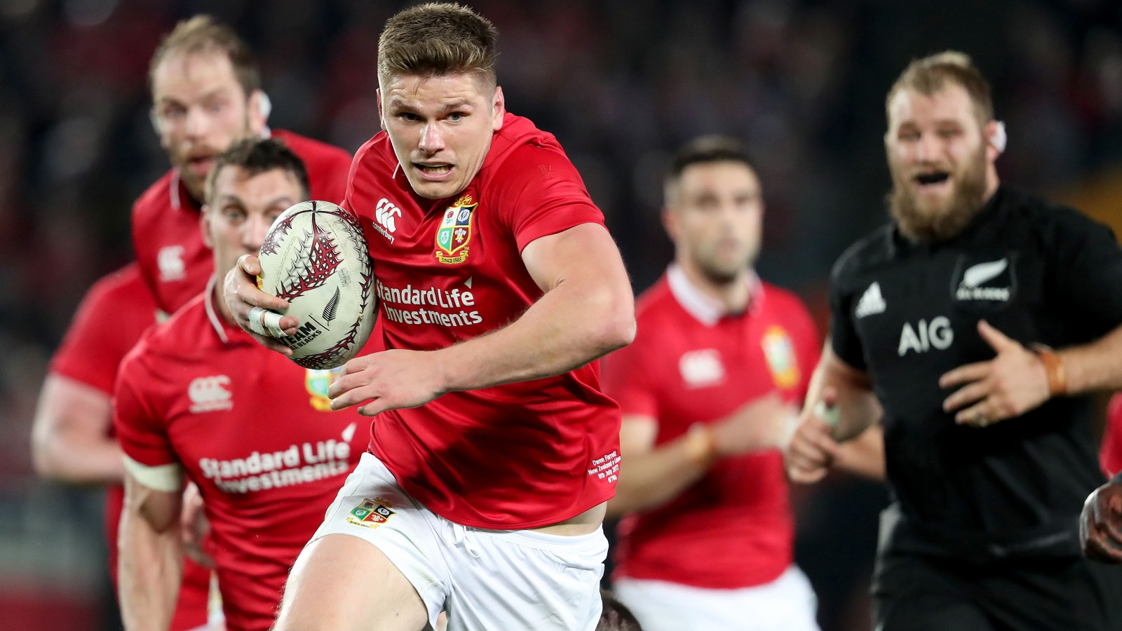 Strong Lions contingent selected in England's Six Nations squad