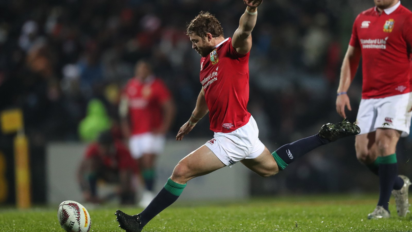 Halfpenny building fitness on return to action